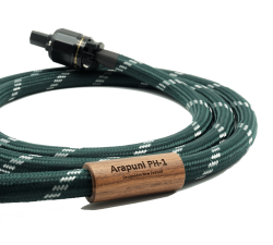 Montaudio Arapuni PH-1 Premium Ultra Silver Hybrid Audiophile Grade Power Cable