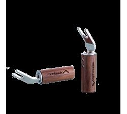 Montaudio Arrowtown CS-1R Audiophile Rhodium-Plated Spade Connector